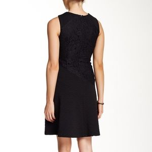 Muse Dresses - Muse Flared Jacquard Lace Dress Sz 8